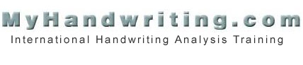 MyHandwriting.com On-Line Training Center
